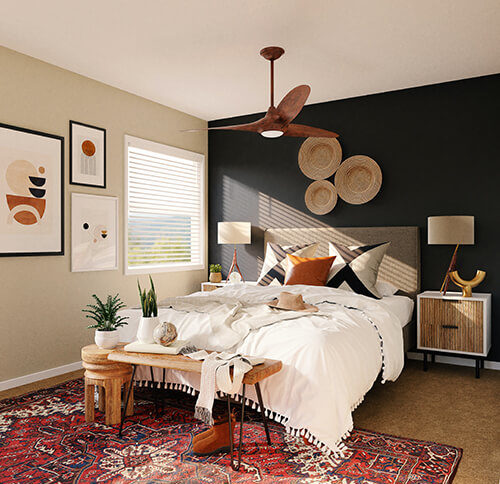 Bedroom serenity redefined